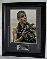 "A945CT CHARLIZE THERON - ""MAD MAX: FURY ROAD"" AUTHENTIC SIGNED"